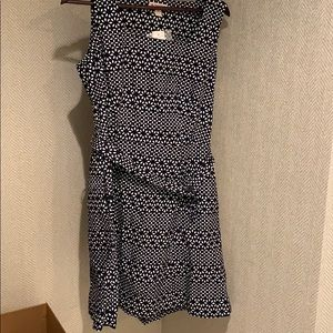 NWT Brooks Brothers blue and White dress.